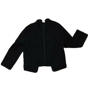Whatever Womens Blazer Open Front Professional L
